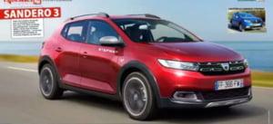 Iata cum ar putea arata noua Dacia Sandero si cu ce noutati va veni