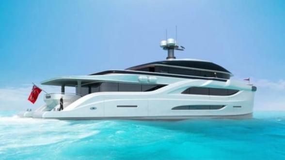 Iata noul Solar Dream, un catamaran desprins parca dintr-un vis