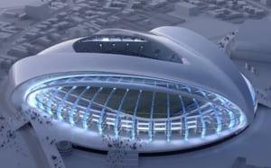 Iata noul stadion de lux din Romania: va costa 100 de milioane de euro (Video)