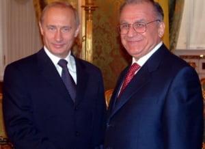 Iliescu: Actiunea Rusiei in Ucraina, cam aventuroasa, dar rusii au o datorie istorica