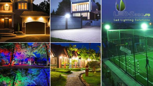 Iluminatul cu proiectoare LED vine la pachet cu o multime de avantaje - iata despre ce este vorba