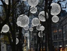 Iluminatul festiv de sarbatori: Bucuresti ramane fruntea tarii in topul cheltuielilor cu luminitele