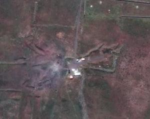 Imagini din satelit arata distrugeri majore in urma atacurilor din Siria (Video)