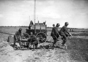 Imagini uluitoare cu tehnica militara folosita in Primul Razboi Mondial