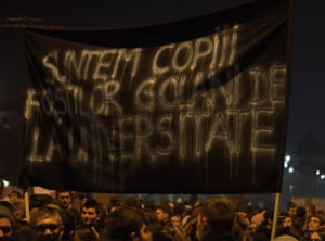 Imnul Golanilor 2.0 - Dupa 27 de ani, Imnul Pietei Universitatii a fost adaptat protestelor din Piata Victoriei (Video)