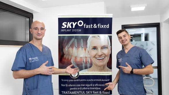 Implant dentar Baia Mare. Fast&Fixed la iDentify