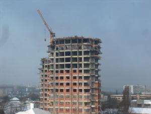 In 2009 s-a construit mai putin fata de anul trecut