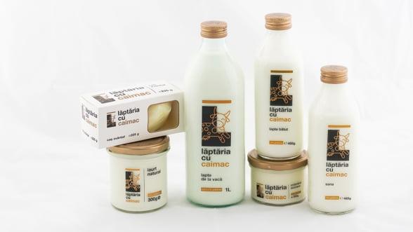 In 2018, Laptaria cu Caimac a vandut peste 500.000 de sticle de lapte, sana si lapte batut