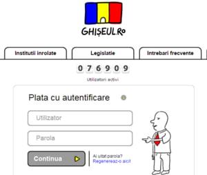In sfarsit, putem sa platim toate taxele online, dar contul pe Ghiseul.ro se obtine cu un drum la institutiile publice