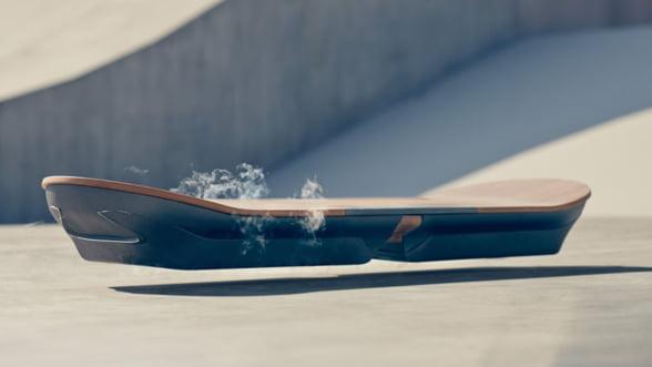 Inapoi in viitor: Lexus pregateste skateboardul plutitor (Video)