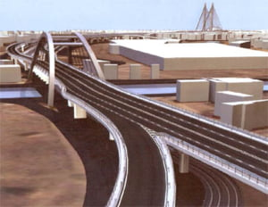 Inaugurarea pasajului Basarab din Capitala, amanata