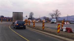 Inca aproape 14 kilometri din Autostrada Transilvania au fost inaugurati astazi