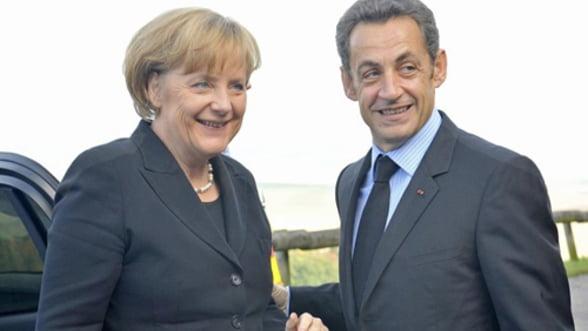 Inca o intalnire Merkel-Sarkozy pentru salvarea euro. Rezultatul: nimic nou sub soare