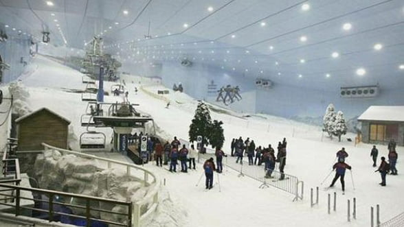 Inca un pic si mergem la schi in Abu Dhabi!