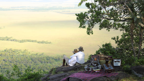 Incearca un safari ca-n filme la Angama Mara