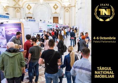 Incepe editia aniversara a Targului National Imobiliar - TNI, 15 ani! 4-6 octombrie, Palatul Parlamentului