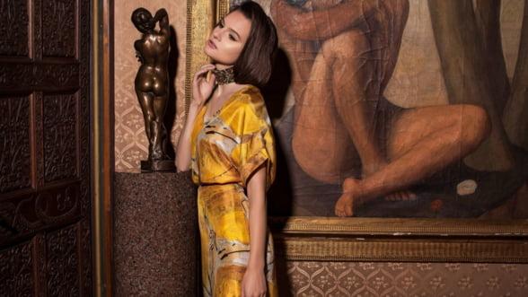 Incepe sezonul petrecerilor: Poarta rochiile din matase in nuante vii