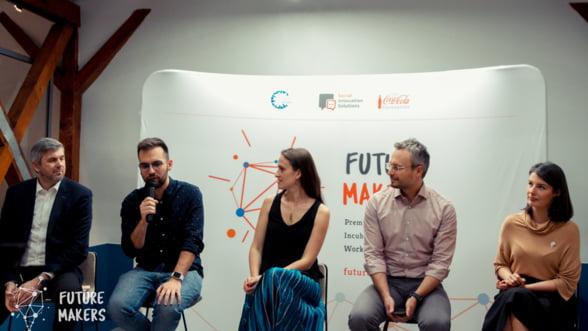 Incubare, conectare si premii de 20.000 de euro pentru idei de viitor la Future Makers