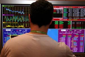 Indicele BET-FI a scazut cu 3,46%, BVB a inchis pe rosu