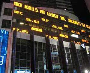 Indicele BET a scazut la minimul ultimilor trei ani si jumatate, dupa un nou faliment pe Wall Street
