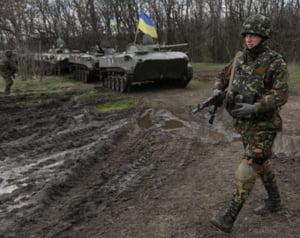 Ingrijorare la Moscova: Ucraina a masat 15.000 de militari la granita cu Rusia