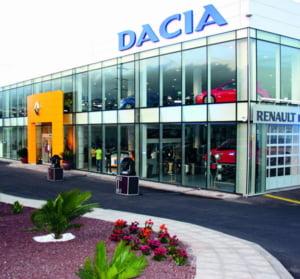 Inmatricularile de masini Dacia in Franta, in crestere cu 0,6%