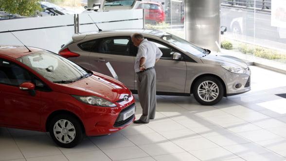 Inmatricularile de masini noi in Romania au scazut cu o treime in martie
