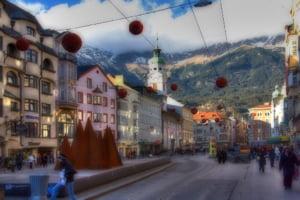 Innsbruck: mall-ul alpin
