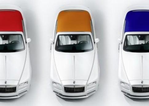 Inspired by fashion: Cea mai sexy masina Rolls Royce imbraca o tinuta noua!
