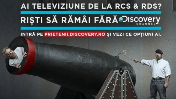 """Instanta a decis ca Discovery trebuie """"sa se abtina"""" sa ii instige pe abonatii RCS&RDS"""