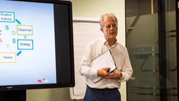 Institutul de Marketing il aduce pentru prima data in Romania pe creatorul modelului de planificare SOSTAC, PR Smith