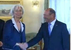 """Intalnire """"de gradul III"""" intre seful FMI si Basescu. Vezi ce-au discutat"""