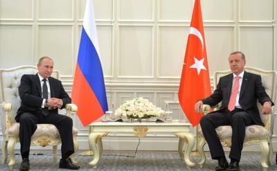 Intalnire de gradul zero Erdogan-Putin: jalba cu care se duce presedintele Turciei la Kremlin