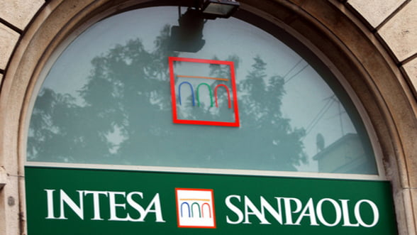 Intesa Sanpaolo in Romania a avut pierderi de milioane de euro