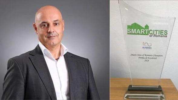 Intrarom a fost premiata pentru implementarea primului sau Proiect Pilot Smart City