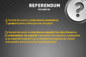 Intrebarile care ne sunt puse la referendumul pentru Justitie, explicate