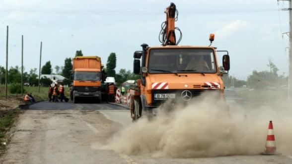 Intretinerea drumurilor nationale si autostrazilor - 1 miliard de euro intre 2008-2012