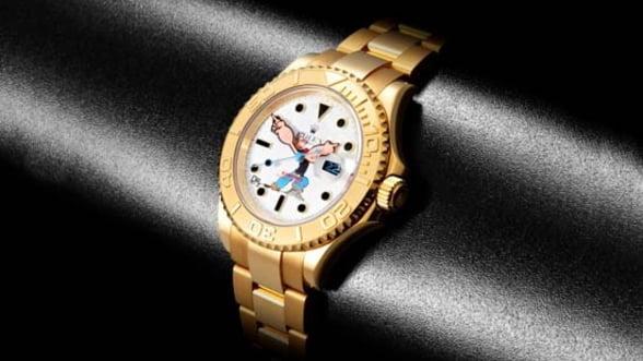 "Inveseleste-te cu ceasul Gold ""Popeye"" Rolex Yachtmaster"