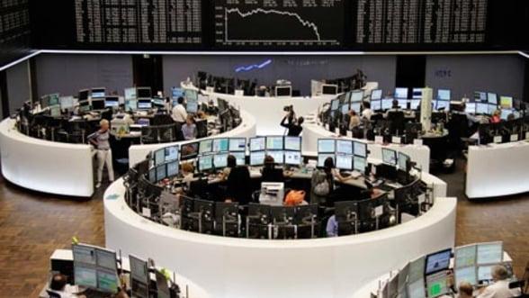 Investitorii din SUA cumpara masiv pe bursele europene