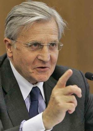 Investitorii nu au incredere in Trichet