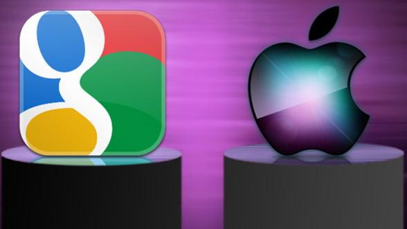 Investitorii parasesc Apple, in favoarea Google