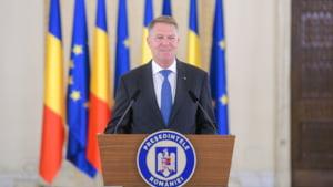 Iohannis: A castigat Romania in care hotii stau la puscarie. PNL si USR-PLUS pot pune baza unei colaborari