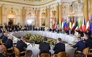 Iohannis: Discursul lui Trump la summit a fost foarte bun. Gazul lichefiat american, o alternativa la cel rusesc