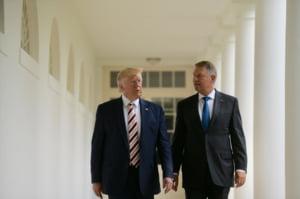 Iohannis: Presedintele Trump este foarte interesat de cresterea prezentei militare in Romania