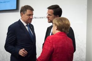 Iohannis: Toti liderii europeni sunt ingrijorati si au apreciat ca romanii au o voce puternica
