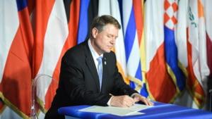 Iohannis, despre declaratia de la Roma: Textul este echilibrat. Au fost preluate preocuparile exprimate de Romania
