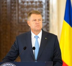 Iohannis, in Parlament: Cea mai tragica lectie a anului 2015 si ce asteapta de la Ciolos
