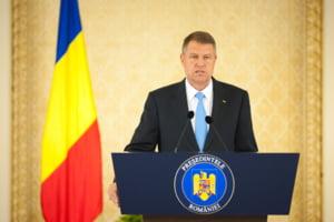 Iohannis, in Parlament: Vrea vot pozitiv pe noua Strategie Nationala de Aparare