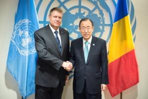 Iohannis, intalnire cu secretarul general al ONU, Ban Ki-moon - Ce s-a discutat