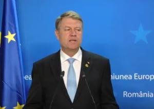 Iohannis, la finalul Consiliului European: Am explicat ca o Europa cu mai multe viteze nu e o solutie buna (Video)